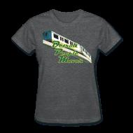 T-Shirts ~ Women's T-Shirt ~ Detroit People Mover Women's Standard Weight T-Shirt