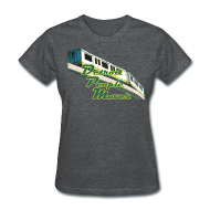 T-Shirts ~ Women's T-Shirt ~ Detroit People Mover Women's Standard Weight T-Shirt