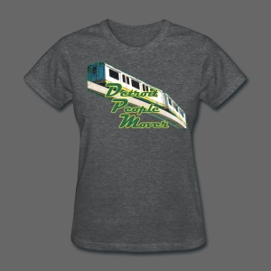 Detroit People Mover Women's Standard Weight T-Shirt - Women's T-Shirt