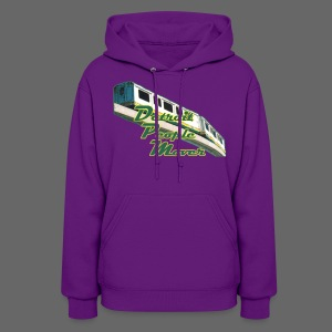 Detroit People Mover Women's Hooded Sweatshirt - Women's Hoodie