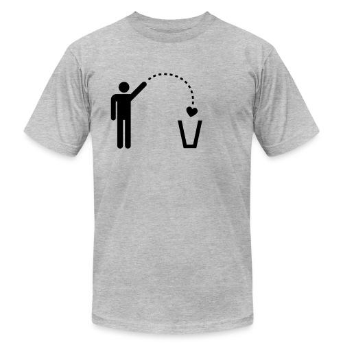 Trash Heart - Men's Fine Jersey T-Shirt