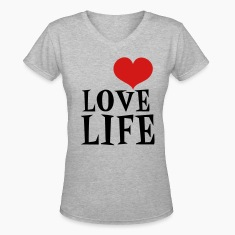 Gray love life Women's T-Shirts