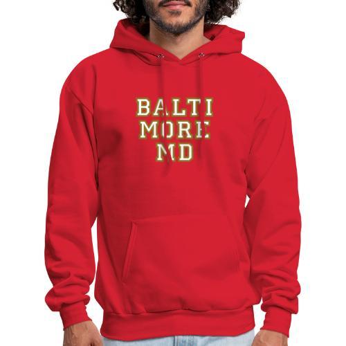 Baltimore MD Hoodie College Style - Men's Hoodie