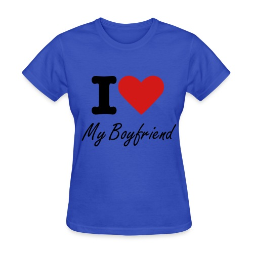 For happy girlfriend - Women's T-Shirt