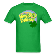 T-Shirts ~ Men's T-Shirt ~ Magically Delicious St Patricks Day T-Shirts