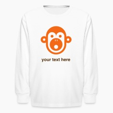 personalizable monkey shirt