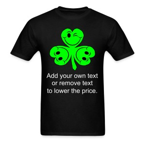 Smiling Clover Leaves - Men's T-Shirt