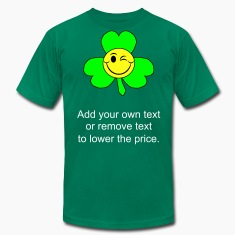 Kelly green smileyclover T-Shirts