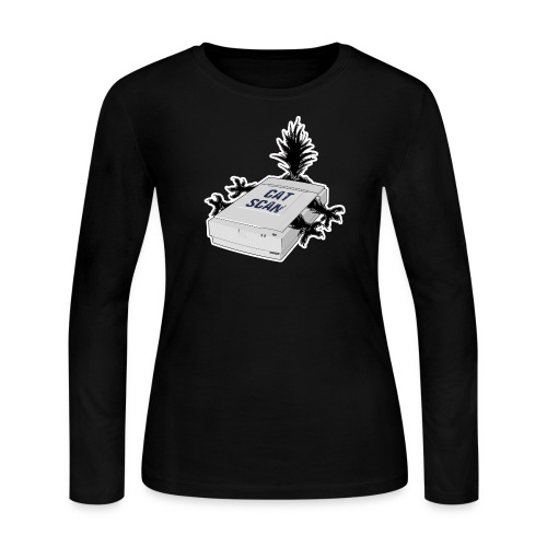 Cat Scan - Women's Long Sleeve Jersey T-Shirt