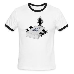 Cat Scan - Men's Ringer T-Shirt