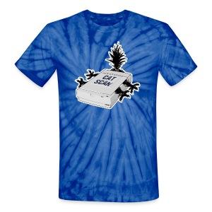 Cat Scan - Unisex Tie Dye T-Shirt