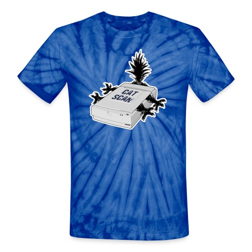 Cat Scan - Unisex Tie Dye T-Shirt