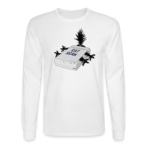 Cat Scan - Men's Long Sleeve T-Shirt