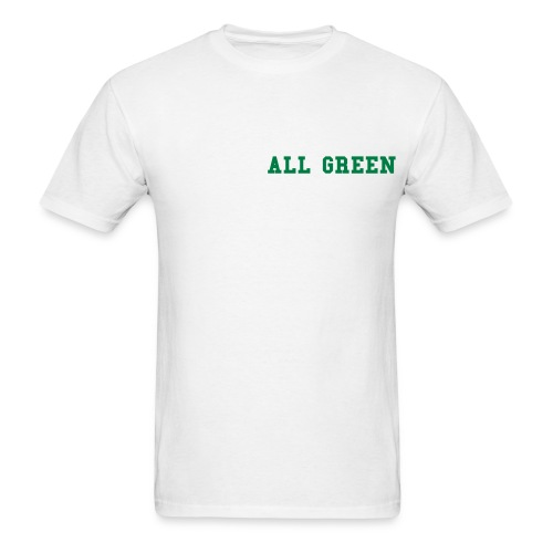 all green - Men's T-Shirt
