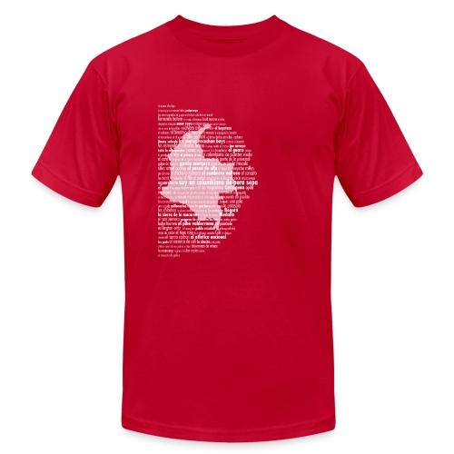 Colombiano De Pura Sepa - Men Dark Map - Men's  Jersey T-Shirt