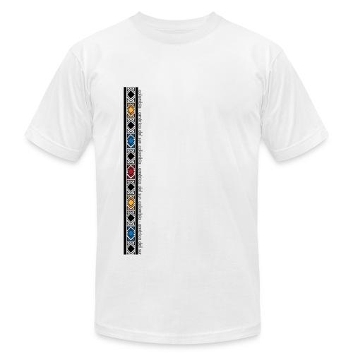 Colombia America Del Sur - Vertical - Men's Fine Jersey T-Shirt