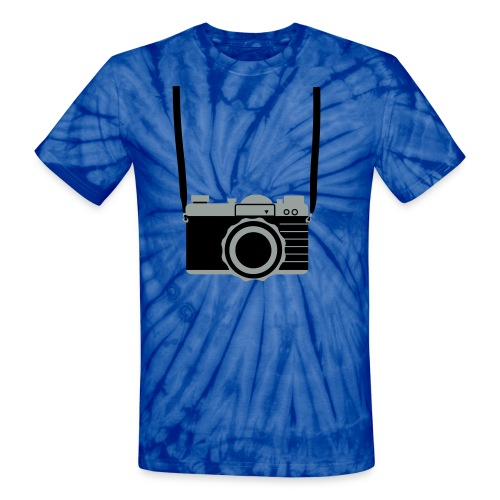 Photo Nerd tee - Unisex Tie Dye T-Shirt