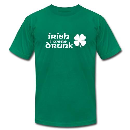 Irish I Were Drunk T-Shirt - Men's Fine Jersey T-Shirt
