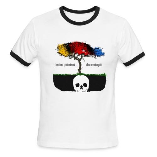 Colombia - Violencia Enterrada - Men's Ringer T-Shirt
