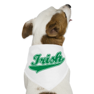 Other ~ Dog Bandana ~ Green Irish Dog Bandana