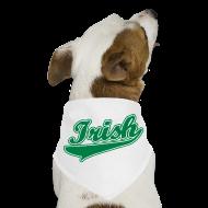 Other ~ Dog Bandana ~ Green Irish Dog Bandana