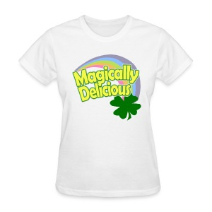 Magically Delicious St Patricks Day T-Shirt - Women's T-Shirt