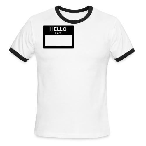 My Name Is... - Men's Ringer T-Shirt