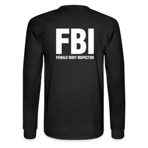 Female Body Inspector Long Sleeve - Men's Long Sleeve T-Shirt
