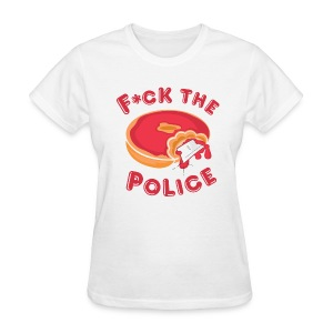 Fuck The Police T-shirt - Women's T-Shirt