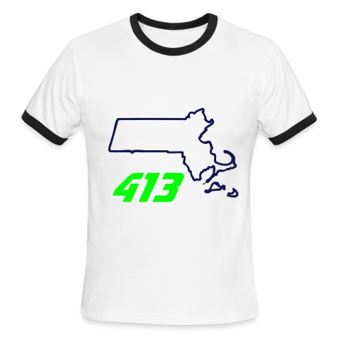 413 - Men's Ringer T-Shirt