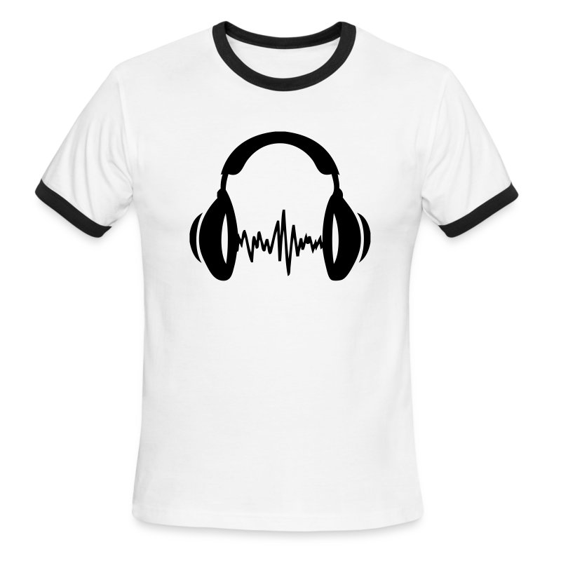music t shirt spreadshirt. Black Bedroom Furniture Sets. Home Design Ideas