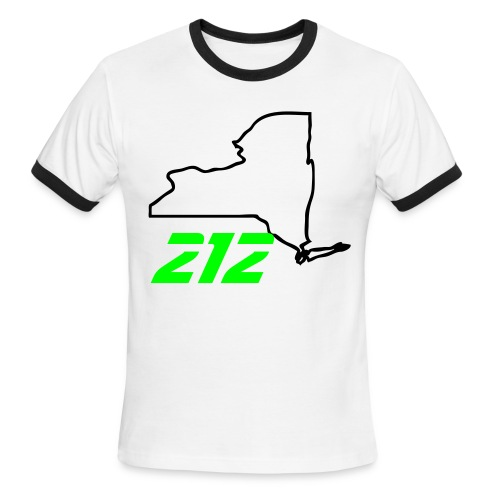 212 - Men's Ringer T-Shirt