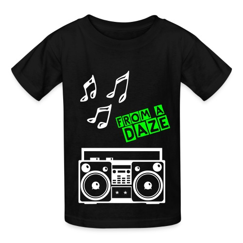 Listen to the music - Kids' T-Shirt