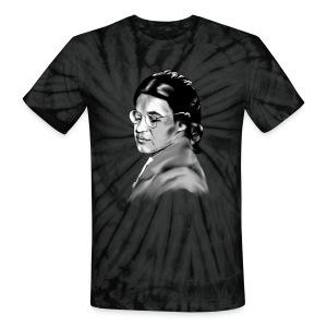 Rosa Parks_Plain_Portrait In Courage - Unisex Tie Dye T-Shirt