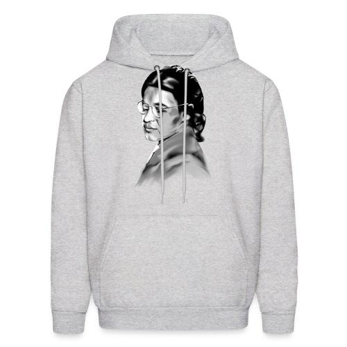 Rosa Parks_Plain_Portrait In Courage - Men's Hoodie