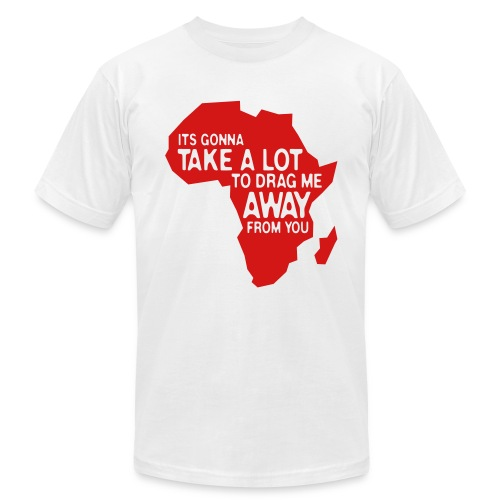Africa: Just Can't Stay Away  - Men's  Jersey T-Shirt