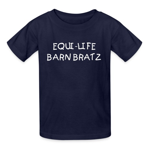Barn Bratz ~ Navy - Kids' T-Shirt