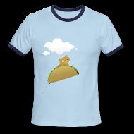 T-Shirts ~ Men's Ringer T-Shirt ~ Bonky Taco