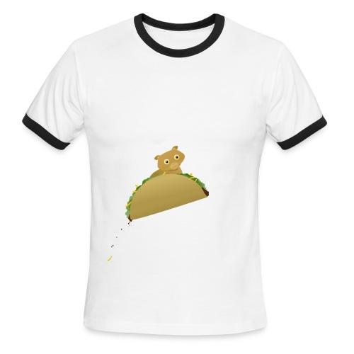 Bonky Taco - Men's Ringer T-Shirt