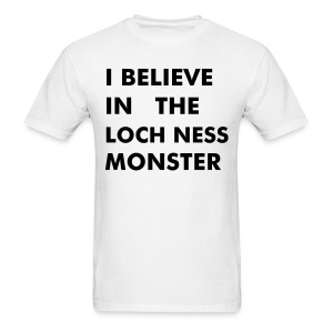 ...Loch Ness Monster - Men's T-Shirt