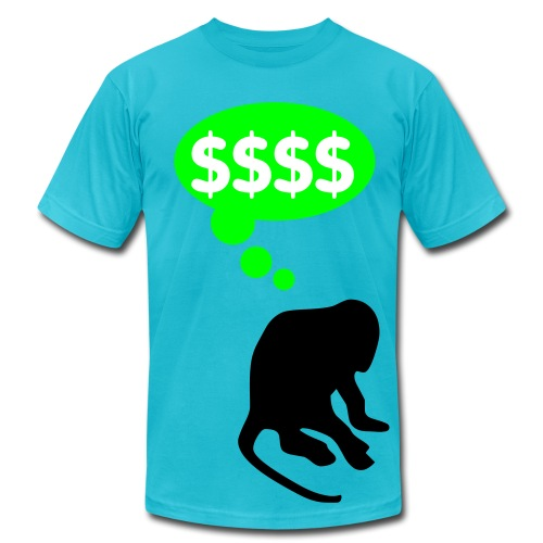 Pimp Chimp - Men's Fine Jersey T-Shirt