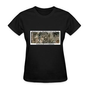 1893 Morgan Silver Dollar Black Women's T-shirt - Women's T-Shirt