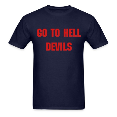 Go To Hell Devils - Men's - Men's T-Shirt