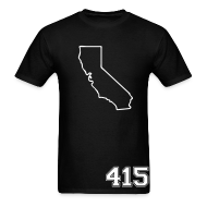 T-Shirts ~ Men's T-Shirt ~ California 415