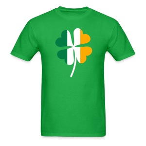Irish Flag Shamrock - Men's T-Shirt