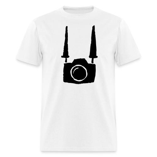 I shoot people (reg tee) - Men's T-Shirt