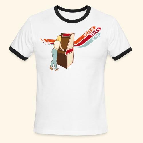 Arcade Fever 1980 - Men's Ringer T-Shirt