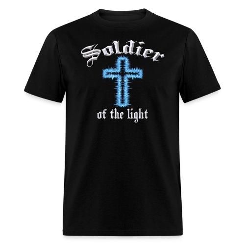 Blue Inspiration V.3(editable) - Men's T-Shirt