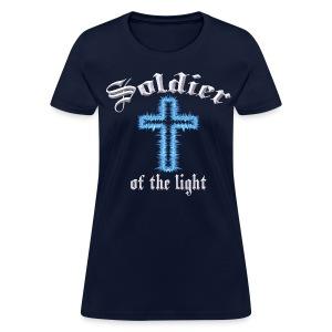 Blue Inspiration V.3(editable) - Women's T-Shirt