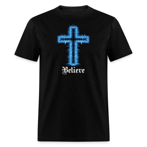 Blue Inspiration V.2(editable) - Men's T-Shirt